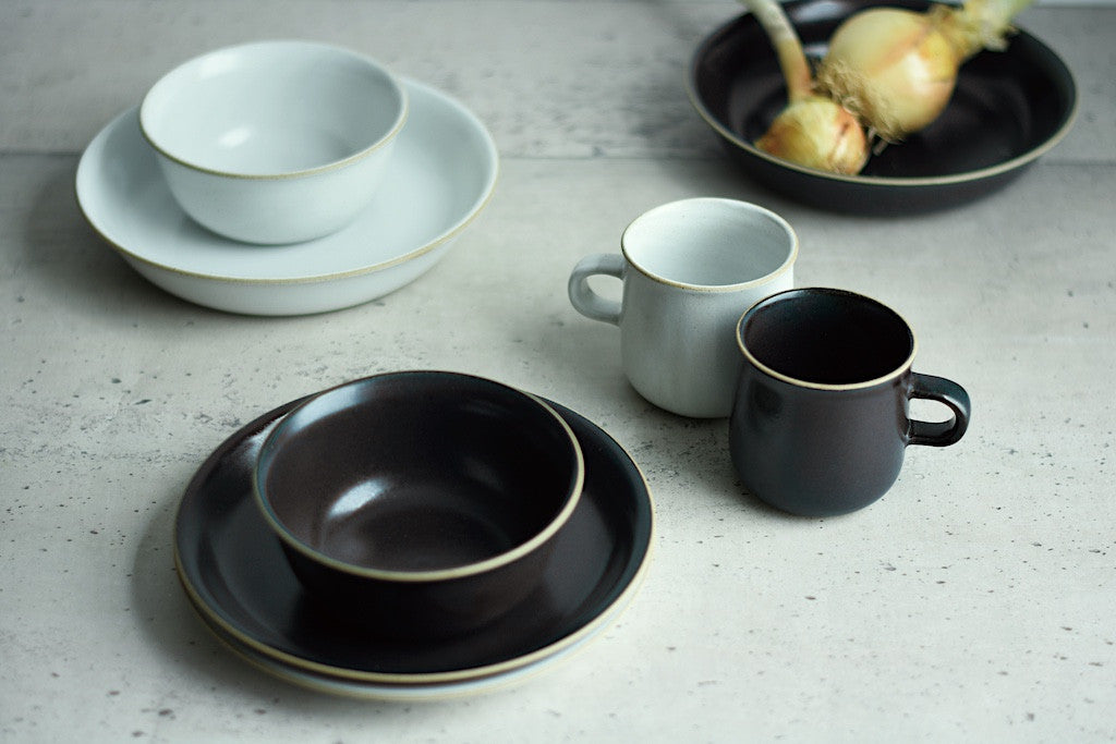 Ceramic Lab. CLK-152 Bowl - Black-Kinto-The Fjord Store