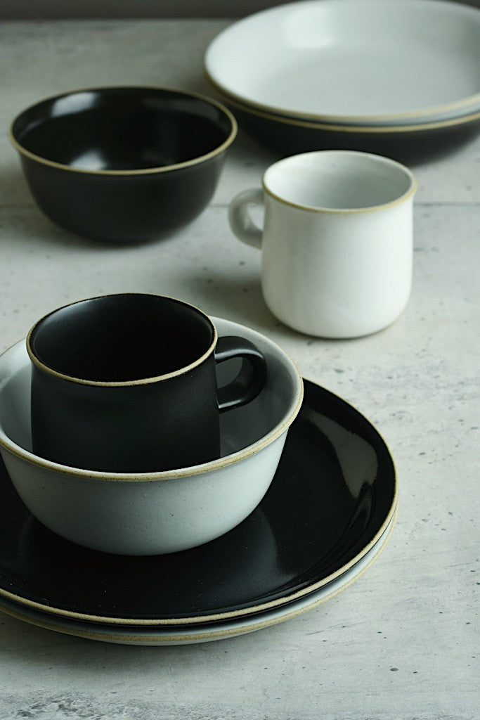 Ceramic Lab. CLK-152 Plate - Black-Kinto-The Fjord Store