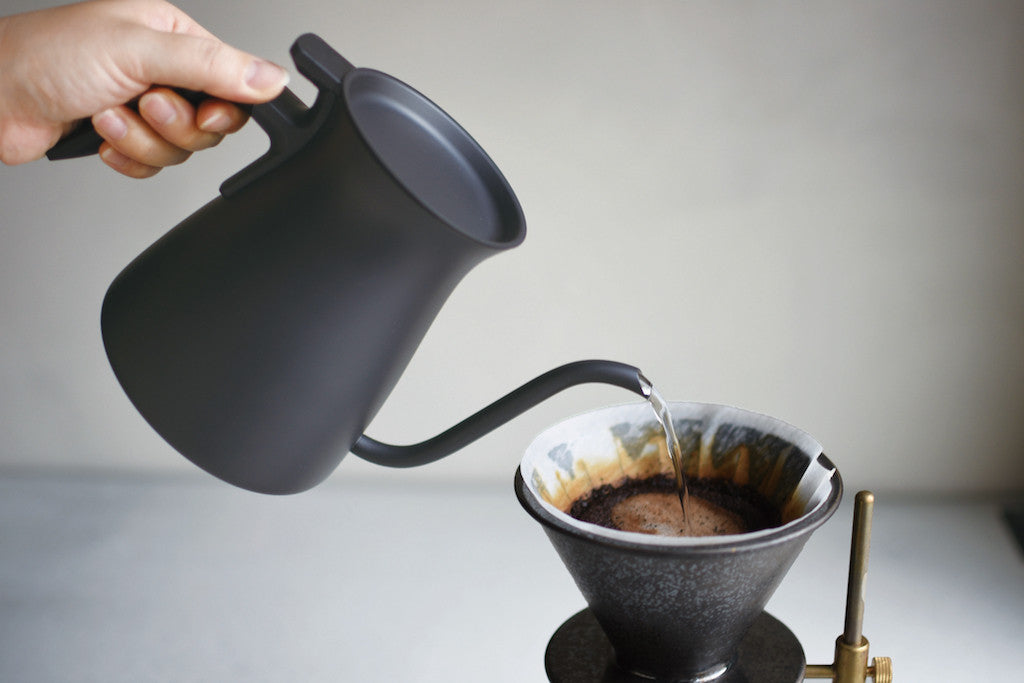 Pour Over Kettle - Black-Kinto-The Fjord Store