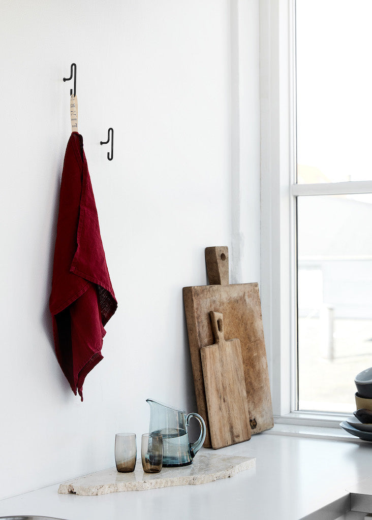 Wall Hook-Small-Black-Moebe-The Fjord Store