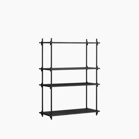 So-Hooked Wall Rack - 30, Black