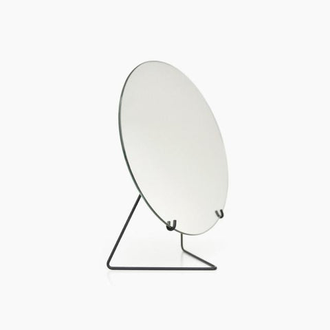 Horizon Round Mirror - White