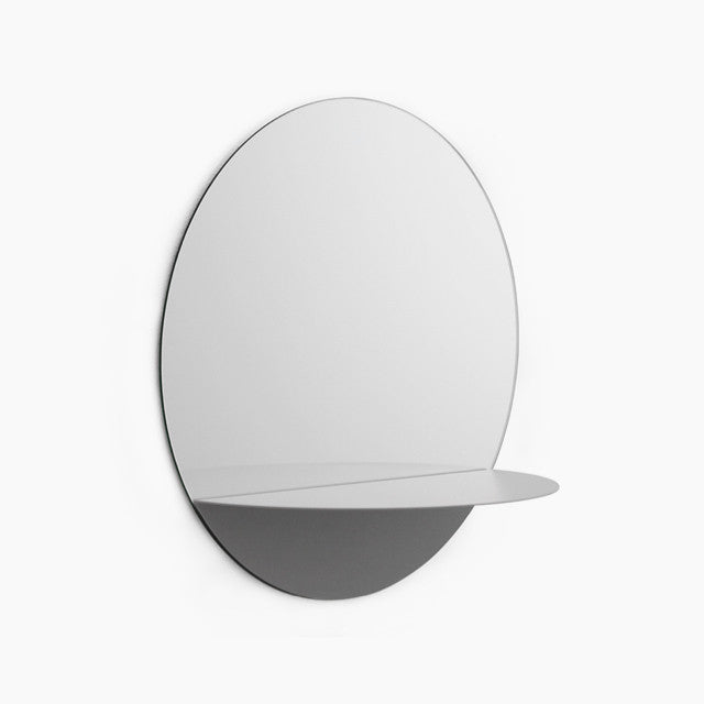Horizon Round Mirror-Grey-Normann Copenhagen-The Fjord Store