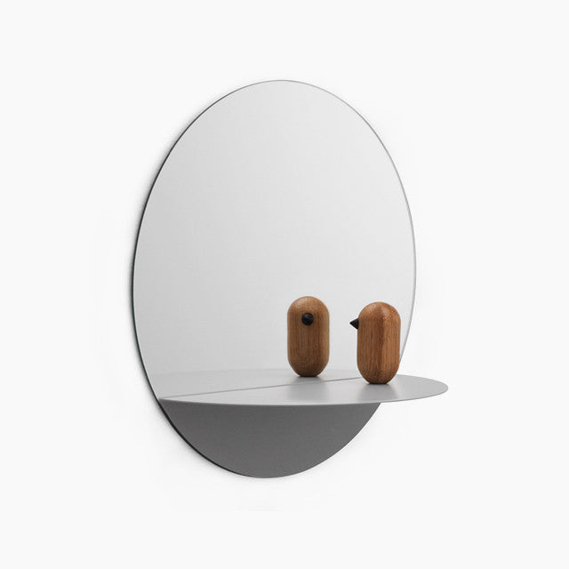 Horizon Round Mirror - Grey-Normann Copenhagen-The Fjord Store