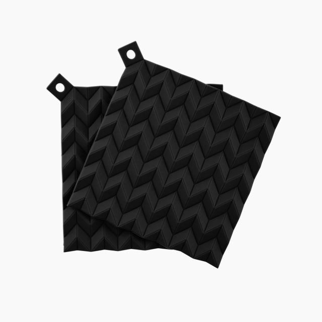 Hold-On Pot Holders-Black-RIG-TIG-The Fjord Store