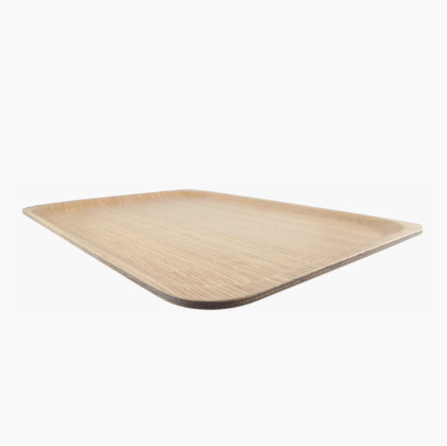 Ayous White Tray-Saito Wood-The Fjord Store