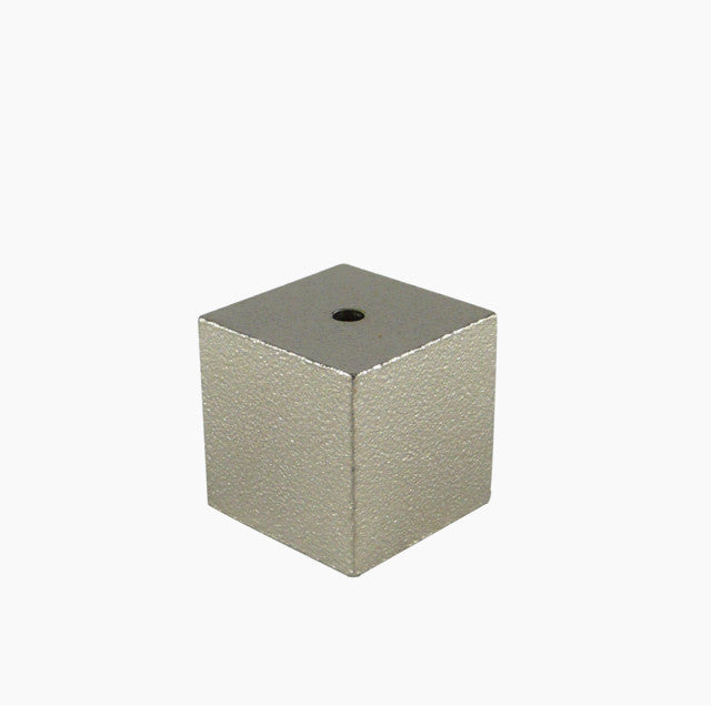 Cube Incense Holder - Silver-Hakuhodo Sumitani Saburo-The Fjord Store