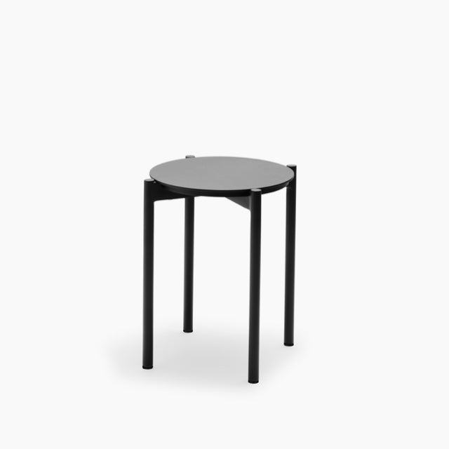 Picnic-Stool-Anthracite-Black-Skagerak-The Fjord Store