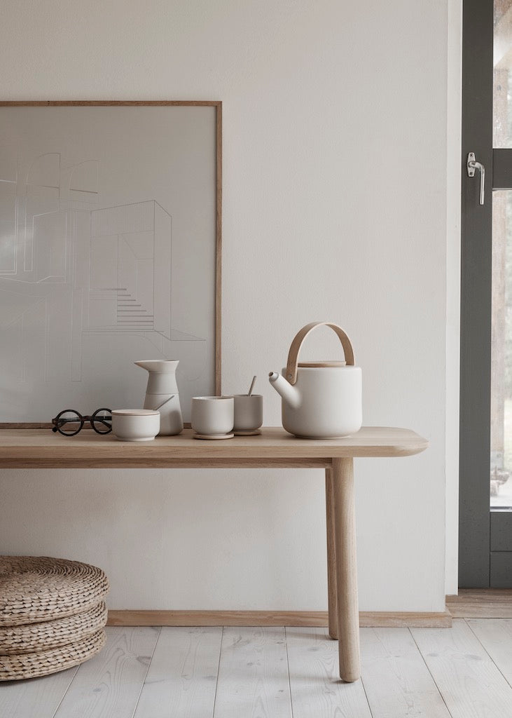 Theo-Tea-Pot-Sand--Stelton-The Fjord Store