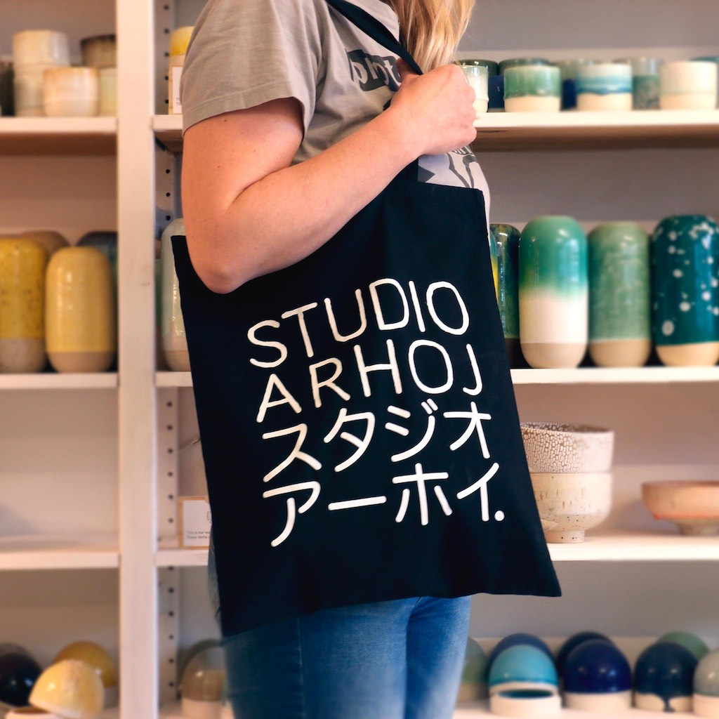 Tote-Bag-Maroon-Studio Arhoj-The Fjord Store