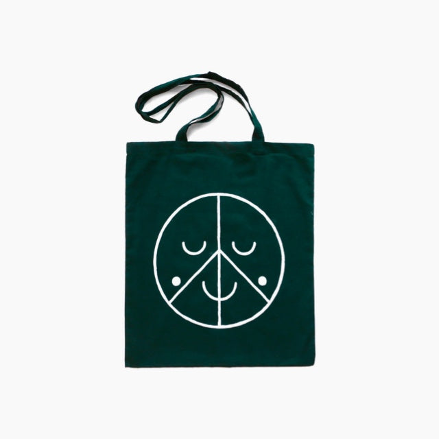 Tote-Bag-Forest-Green-Studio Arhoj-The Fjord Store