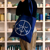 Tote-Bag-Navy-Blue-Studio Arhoj-The Fjord Store