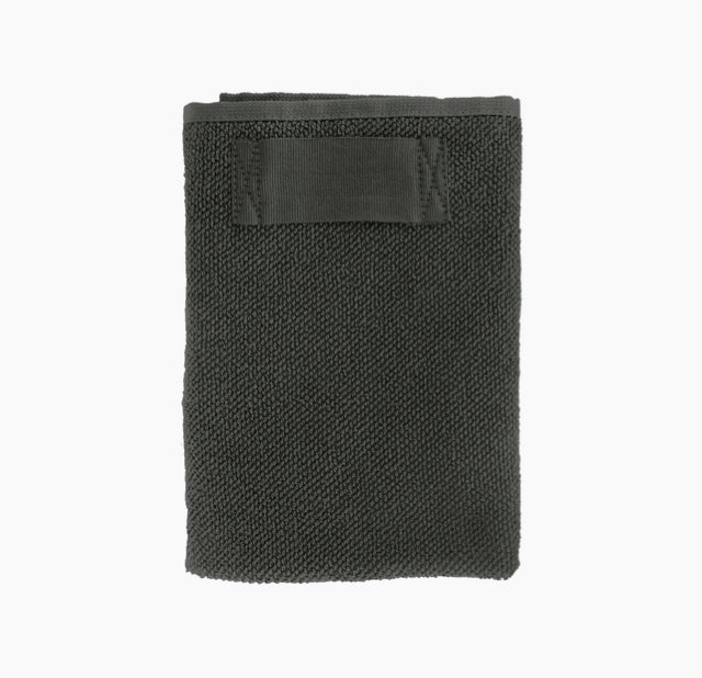 Everyday Hand Towel-Dark Grey-The Organic Company-The Fjord Store