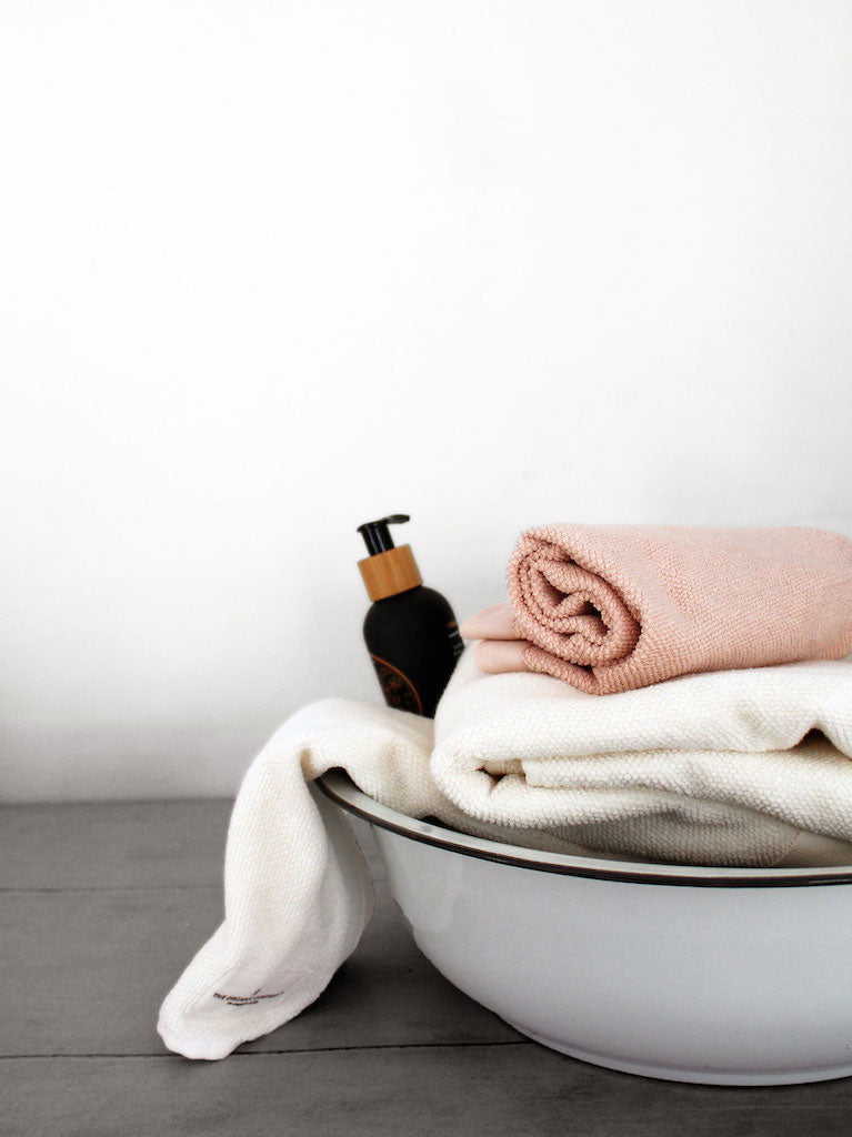 Everyday Hand Towel-White-The Organic Company-The Fjord Store