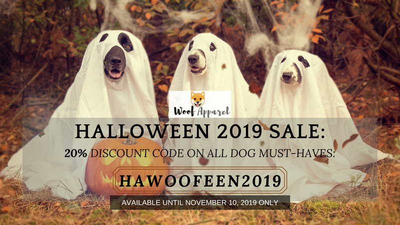 Halloween 2019 Spooktacular Deal: 20% Off On All Dogs Stuff