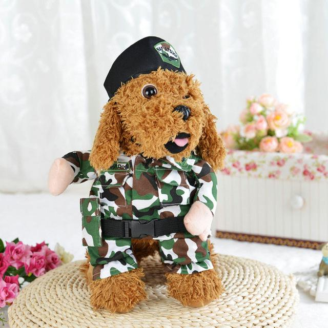 Cute Soldier Army Uniform Camouflage Military Costume for Dog