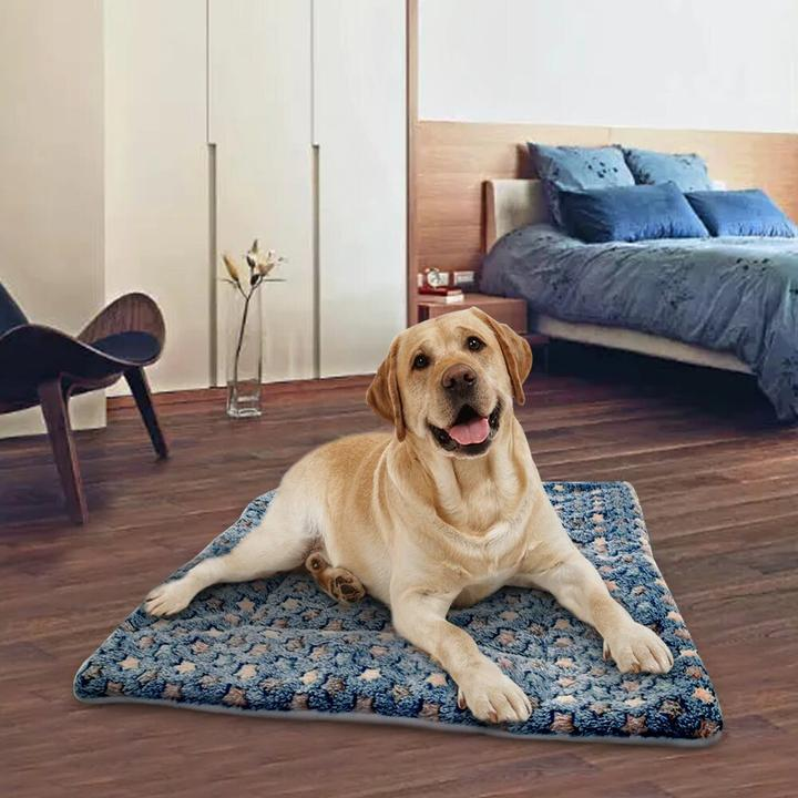 Adorable Star Pattern Design Warm Cushion Mat Dog Bed