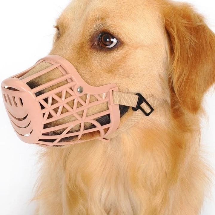 Breathable & Anti-Bite Dog Mouth Muzzle Silicone Cover