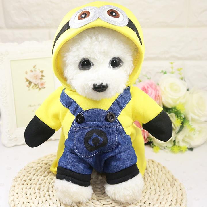 Yellow Minion Onesie Jumper Cute Costume for Dog