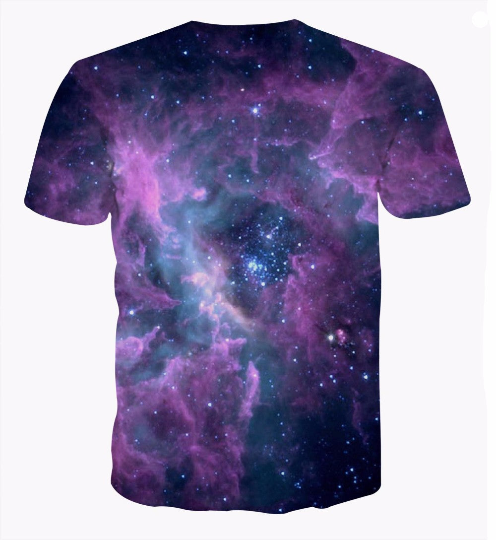 Silly Cat Falling in the Space Black Hole Brilliant Sparkling T