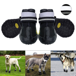 Waterproof Reflective Rubber Boots For Medium-Large Dogs - Woof Apparel