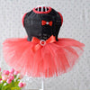 Cute Ribbon Tulle Skirt Spring Outfit Small Dog Dress - Woof Apparel