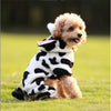 Cute Cow Moo Onesie Winter Costume for Dog - Woof Apparel