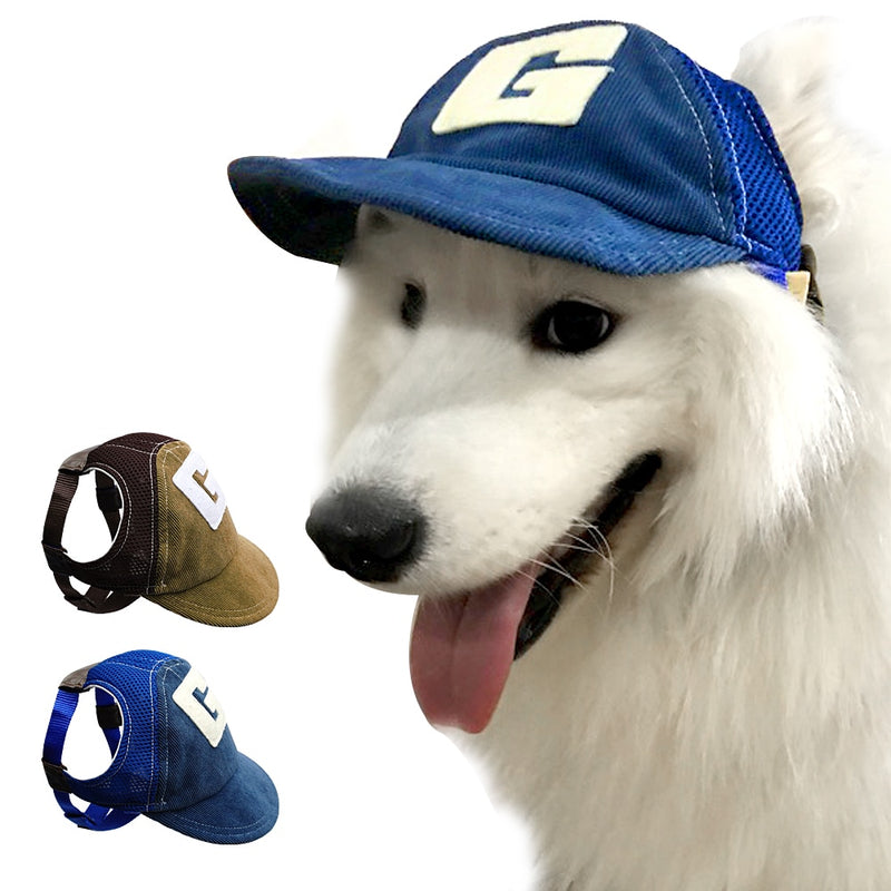 Adjustable Baseball Sports Hat For Your Fashionable Dogs
