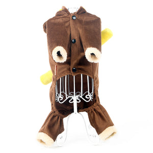 Cute Monkey Coat Costume For Dogs - Woof Apparel