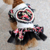 Floral Heart Sequence Tutu Skirt Summer Puppy Dress - Woof Apparel