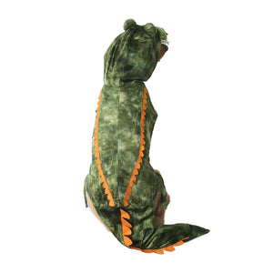 Cute Crocodile with Scales Funny Halloween Costume for Dog - Woof Apparel