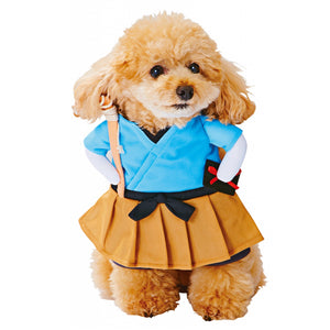 Cute Cosplay Costume Party Clothing Blue Dress For Dog - Woof Apparel