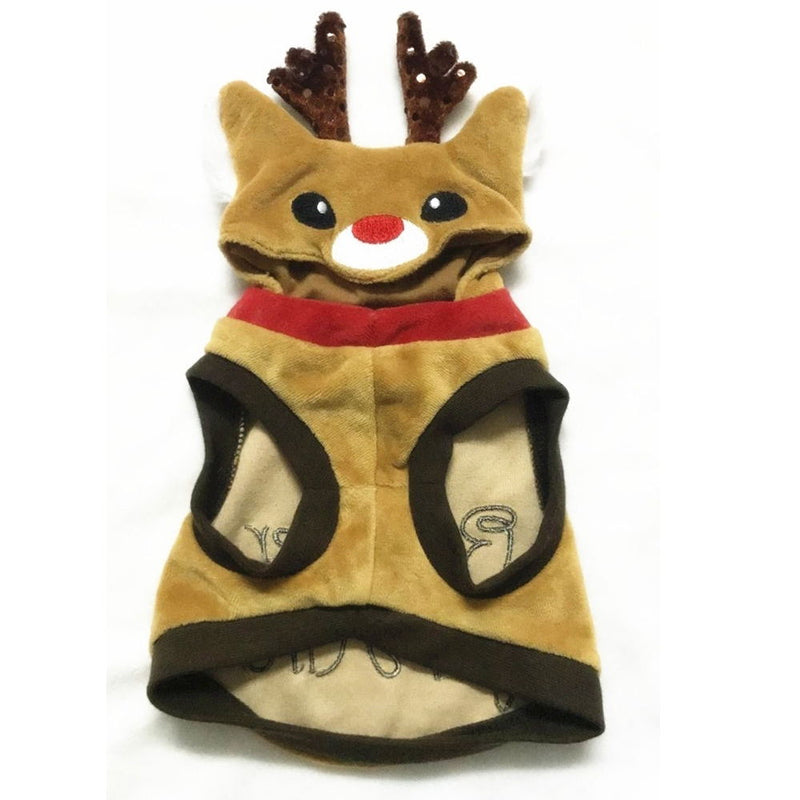 Comfy Reindeer For Hire Coat Costume For Your Cats And Dogs - Woof Apparel