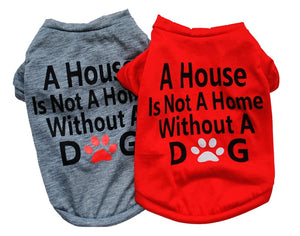Cute Statement Print Soft Summer Clothing Puppy Shirt - Woof Apparel