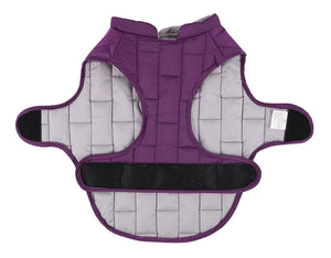 Reversible Waterproof Safety Raincoat Vest For Dogs - Woof Apparel