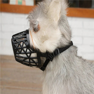 Breathable & Anti-Bite Dog Mouth Muzzle Silicone Cover - Woof Apparel