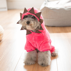 Cartoon Dinosaur Monster Cute Onesie Costume for Dog - Woof Apparel