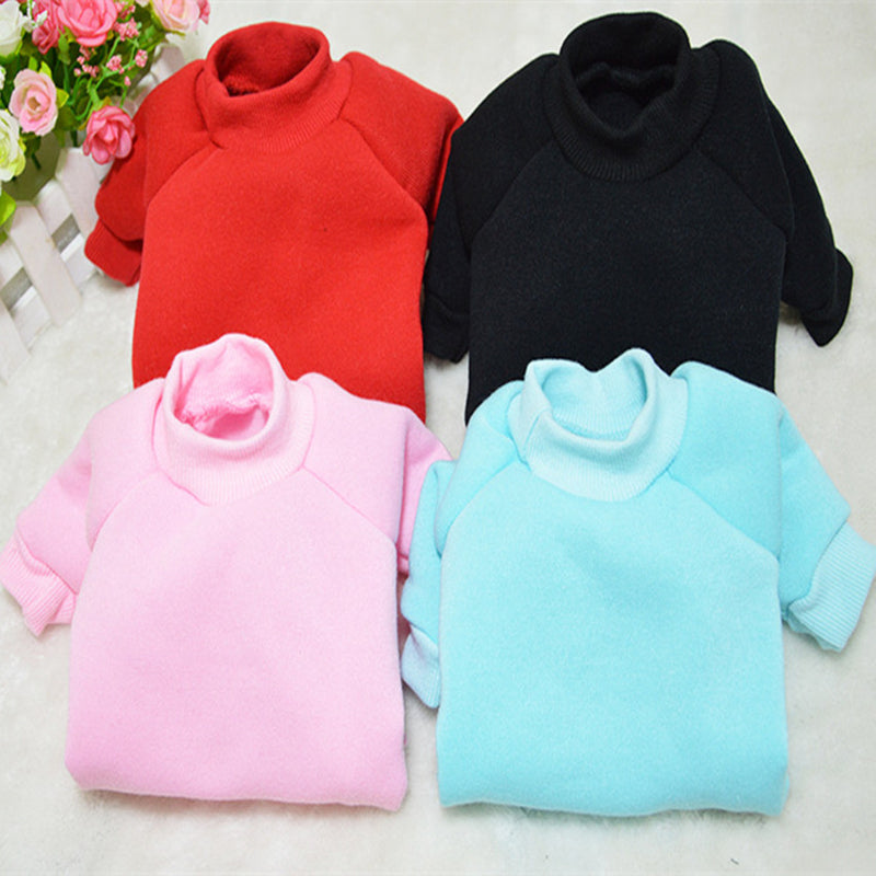 Soft Plain Color Comfortable Clothing Puppy Sweatshirt - Woof Apparel