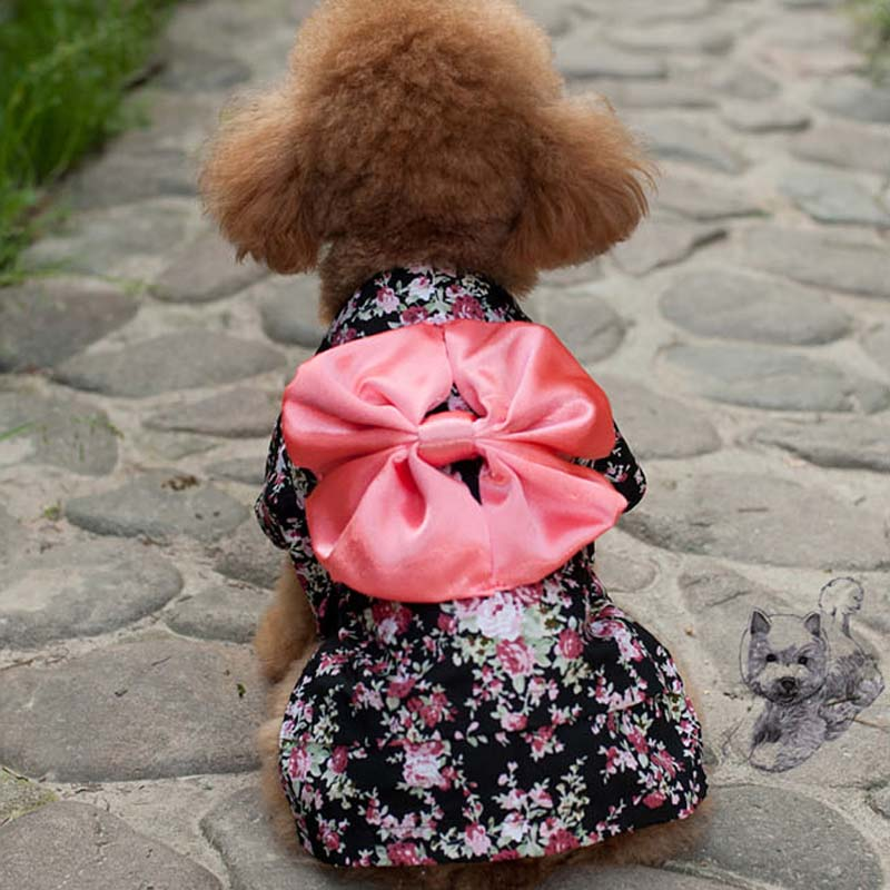 Ethnic  Japan Kimono Costume For Dogs - Woof Apparel