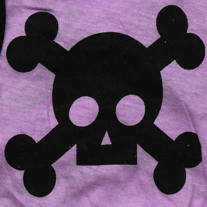 Deadly Skull Cotton Spring Summer Outdoor Puppy Shirt - Woof Apparel