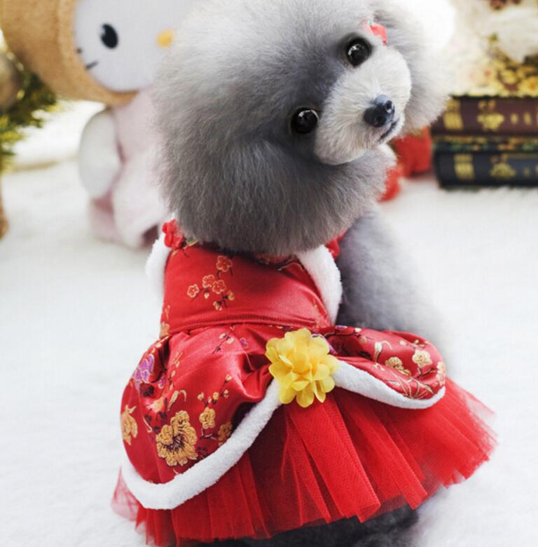 Cute Princess Wedding Skirt Costume For Dogs - Woof Apparel