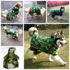 Camouflage Waterproof Mesh Breathable Lining Raincoat - Woof Apparel