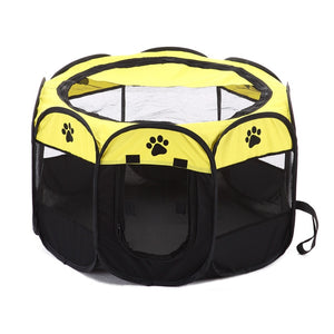 Awesome Portable Folding Pet Tent Oxford Mesh Puppy Bed - Woof Apparel