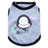 Adorable Monkey Art Design Summer Small Dog Tank Top - Woof Apparel