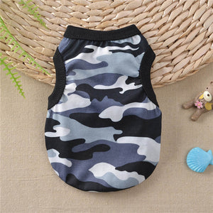 Awesome Camouflage Design Spring Small Dog Tank Top - Woof Apparel