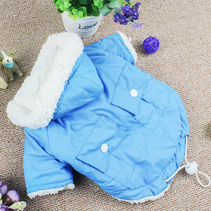 Adorable Soft Cotton Winter Coat Outfit Small Dog Jacket - Woof Apparel