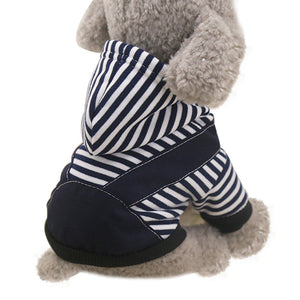 Autumn Winter Dog Clothes Soft Fleece Lining Warm Puppy Hoodie - Woof Apparel