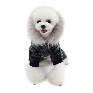 Soft Thickening Warm Ski Jumpsuit Winter Puppy Outfit - Woof Apparel