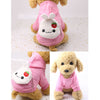 Cute Cartoon Bunny Pocket Warm Fleece Lining Hoodie For Dogs - Woof Apparel