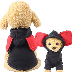 Adorable Big Ears Soft Fleece Winter Hoodie For Dogs - Woof Apparel